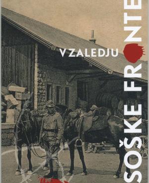 Naslovnica razstavnega kataloga V zaledju soške fronte