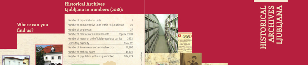 Information brochure about archive