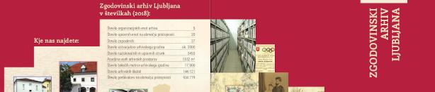 Informacijska brošura o arhivu