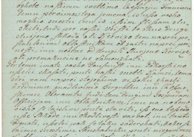 Službena prisega za rudarje rudnika živega srebra v Idriji, 1829