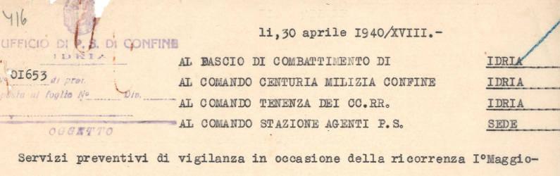 Arhivalija meseca (maj 2015)